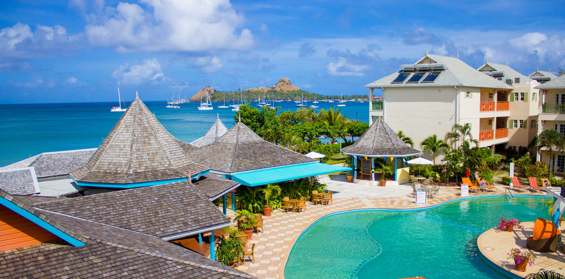 Bay Gardens Inn Outdoors Pool Bay Gardens Resorts In St. Lucia ...