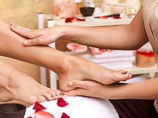 Pedicure in Bay Gardens Resort