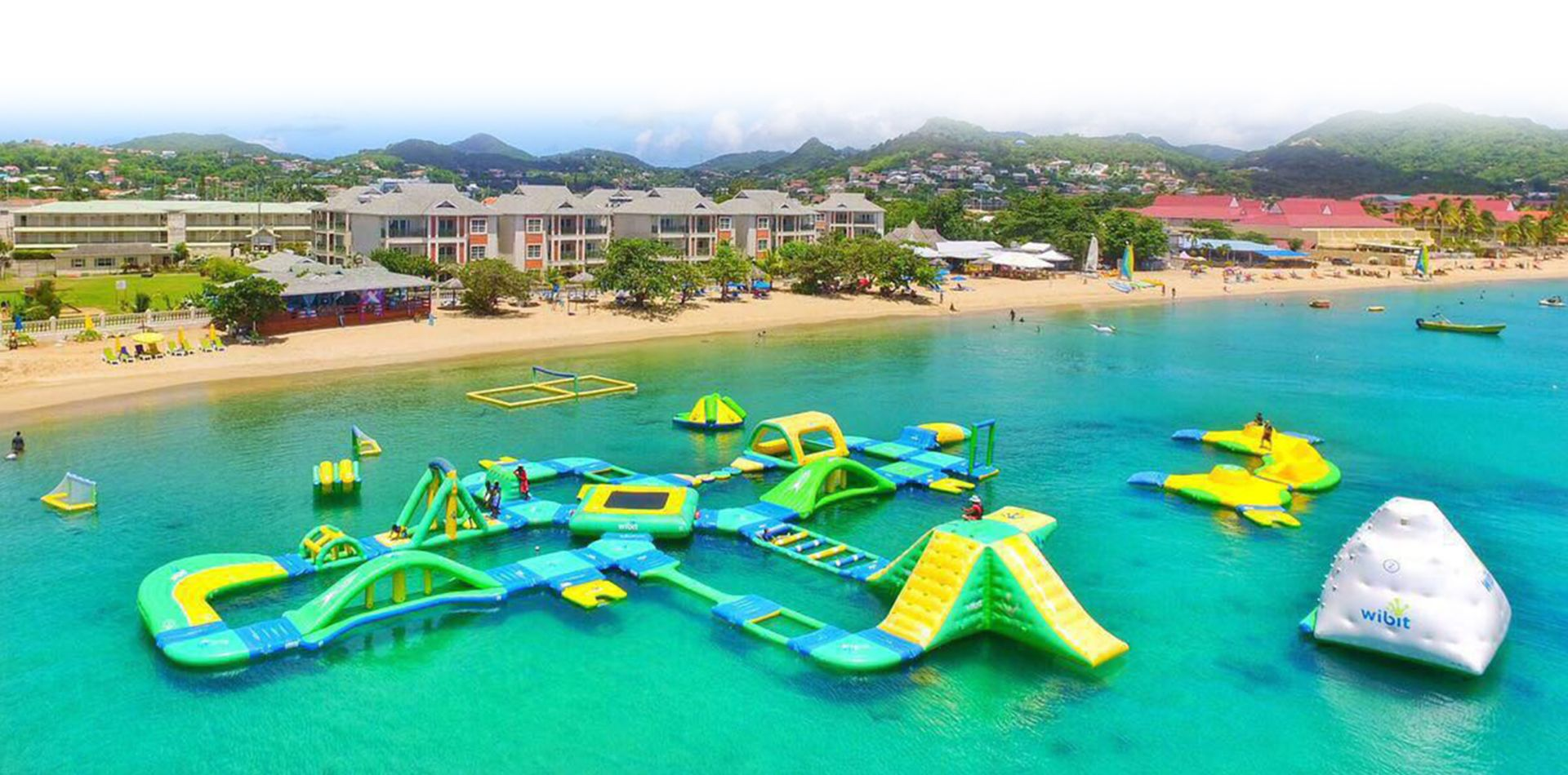 Splash Island Water Park Passes | Bay Gardens Resorts